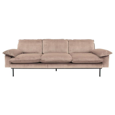 HK Living | Retro sofa 3-seater Nude | House of Orange Melbourne