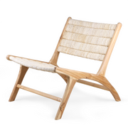 HK Living | Lounge Chair | Abaca-Teak | HK Living | House of Orange Melbourne