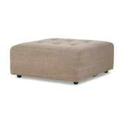vint couch: element hocker, linen blend, taupe