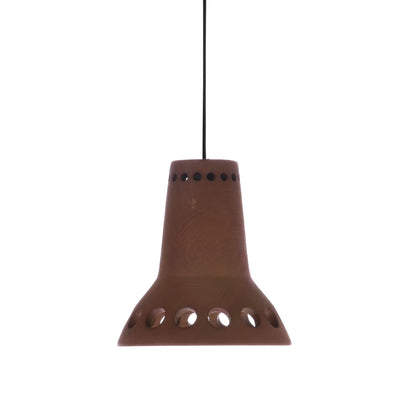 Terracotta pendant lamp 1