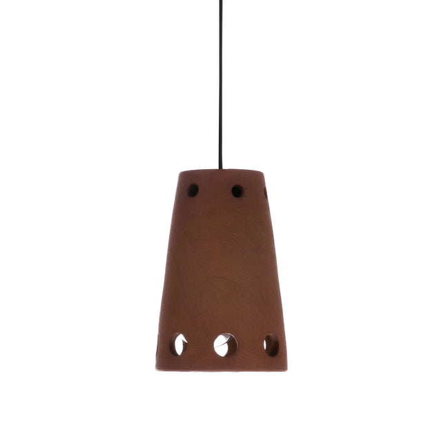Terracotta pendant lamp 2