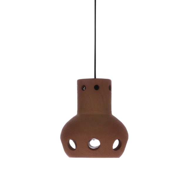 Terracotta pendant lamp 3