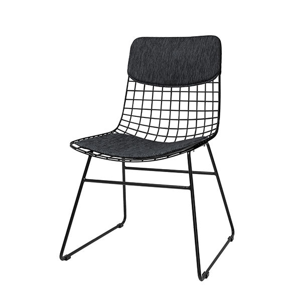HK Living | Wire Chair Comfort Kit Charcoal | House of Orange Melbourne