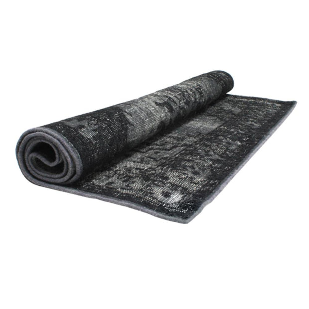 HK Living | Extra Overdyed Rug in Black (180x280) | House of Orange Melbourne