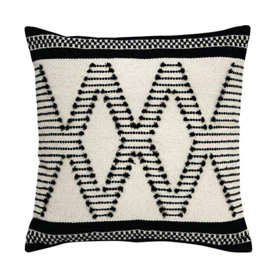 HK Living | Cushion | Aztec Knots Black & White | HK Living | House of Orange Melbourne