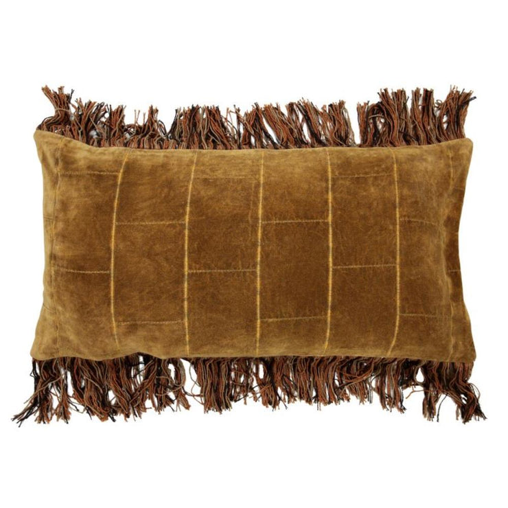 HK Living | Cushion shabby velvet ochre (35x70) | House of Orange Melbourne