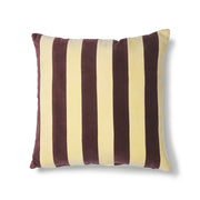 HK Living | Striped Cushion Velvet Yellow/Purple (50x50) | House of Orange Melbourne
