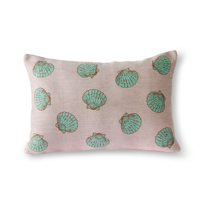 HK Living | Jacquard Weave Greek Shells Cushion | House of Orange Melbourne