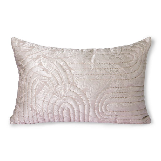 quilted cushion nude/rosé (40x60)