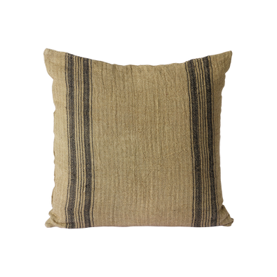 linen cushion dark beige (45x45)
