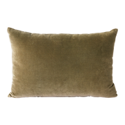 velvet cushion army (40x60)