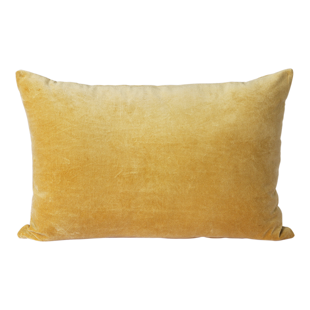 velvet cushion gold (40x60)