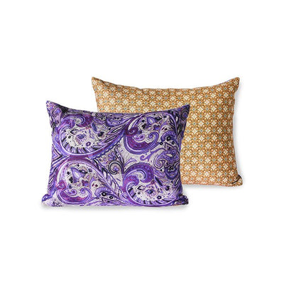 DORIS for HK: printed cushion purple (30x40)