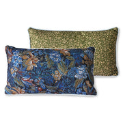 DORIS for HK: printed cushion piping ice blue (35x60)