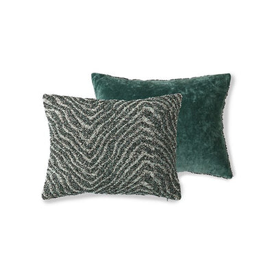 DORIS for HK: jacquard weave cushion zigzag (30x40)