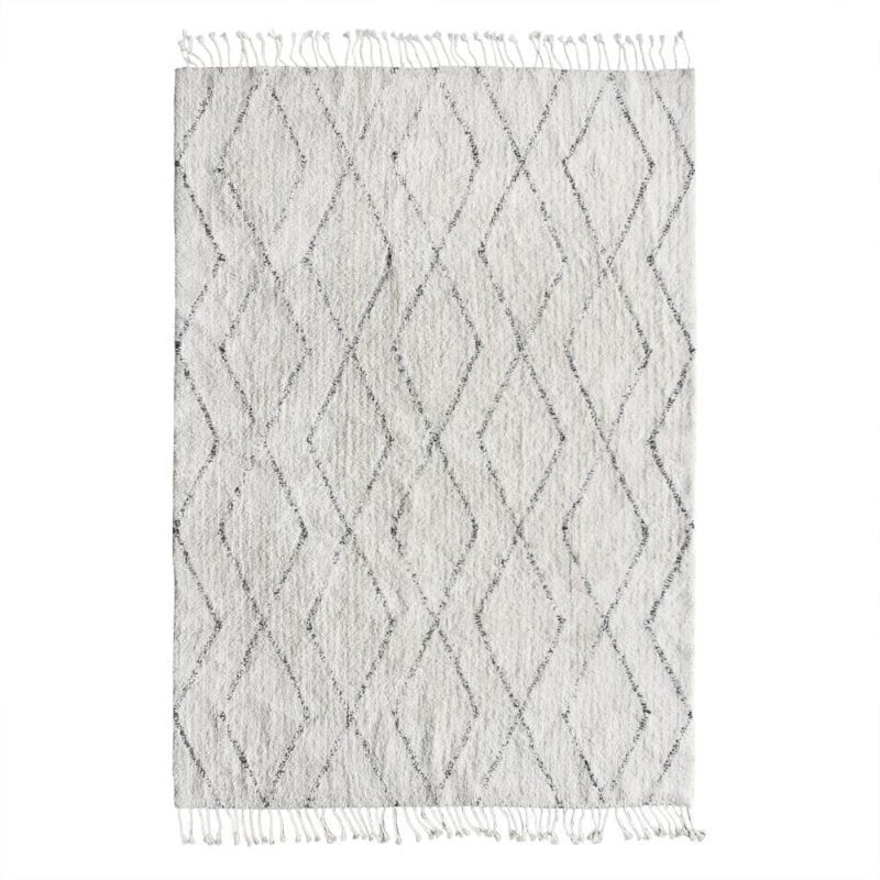 Cotton berber rug (140x200)