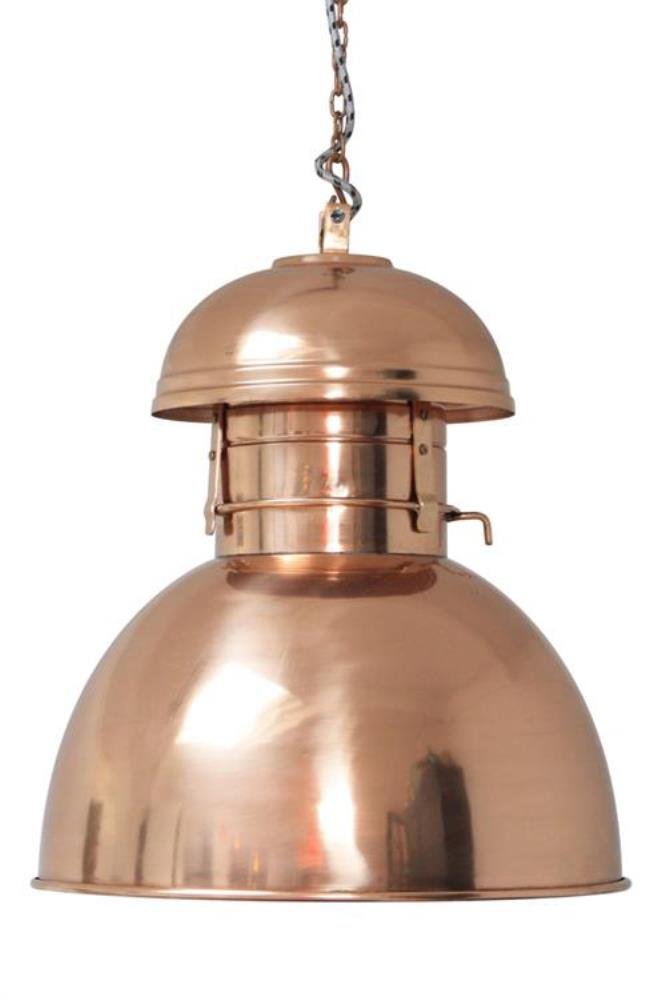 Lamp Warehouse L in Copper