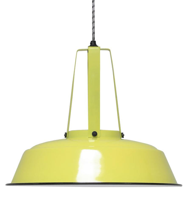HK Old | Lamp 'Workshop' L Neon Yellow | House of Orange Melbourne