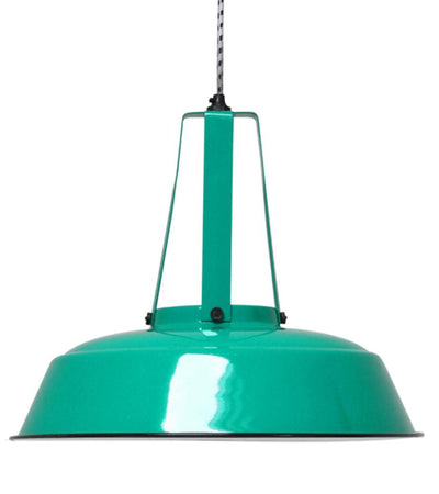 HK Old | Lamp 'Workshop' L Jade Green | House of Orange Melbourne
