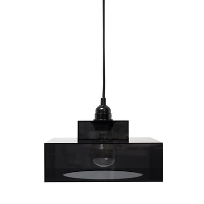 HK Old | Plexi Hanging Lamp Lounge Blk | House of Orange Melbourne