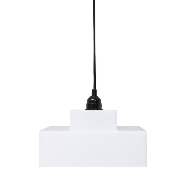 HK Old | Plexi hanging lamp lounge white | House of Orange Melbourne