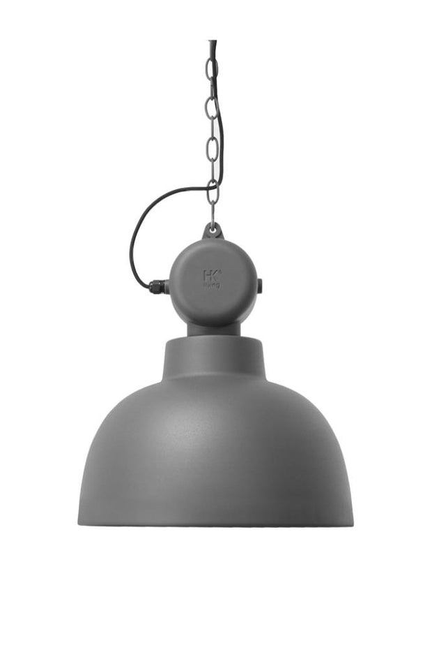 HK Old | Factory Lamp M Matt Grey | House of Orange Melbourne