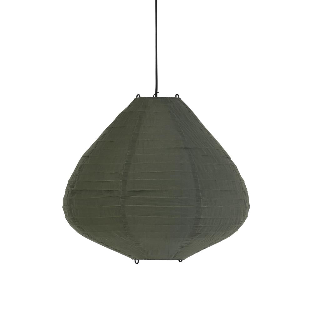 Fabric lantern 50cm Army green