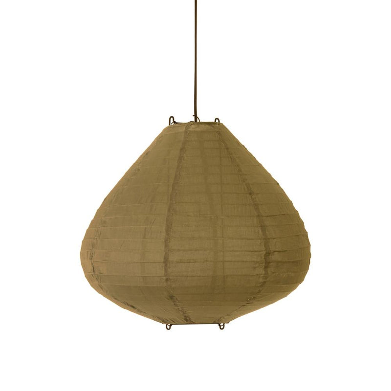 HK Living | Fabric lantern 50cm Khaki brown | House of Orange Melbourne