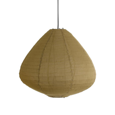 HK Old | Fabric Lantern 65cm Khaki Brown | House of Orange Melbourne