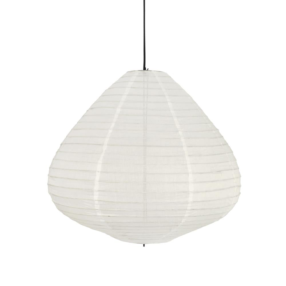 Fabric lantern 65cm Natural