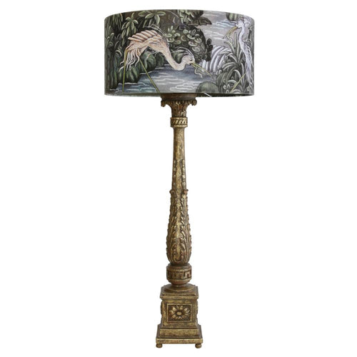 Baroque jungle lamp