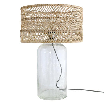 HK Living | Wicker bottle lamp | House of Orange Melbourne