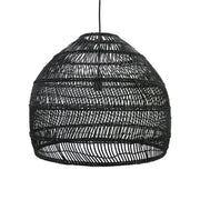 HK Living | Wicker Ball Lamp Medium Black | House of Orange Melbourne