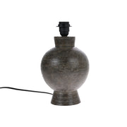 HK Living | Stoneware Lampbase Charcoal M (Base only) | House of Orange Melbourne