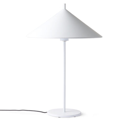 HK Living | Table Lamp | metal Triangle Large White | HK Living | House of Orange Melbourne