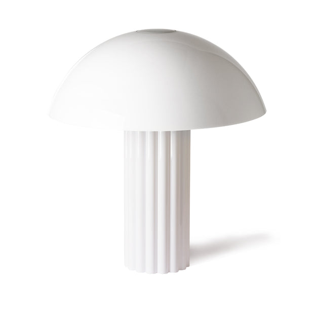Acrylic Mushroom Table Lamp White