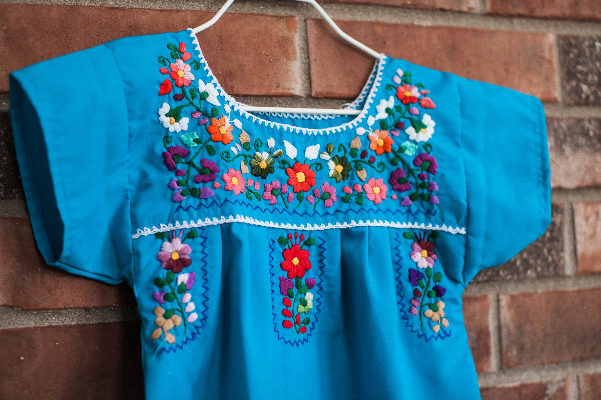 Blue Puebla Dress