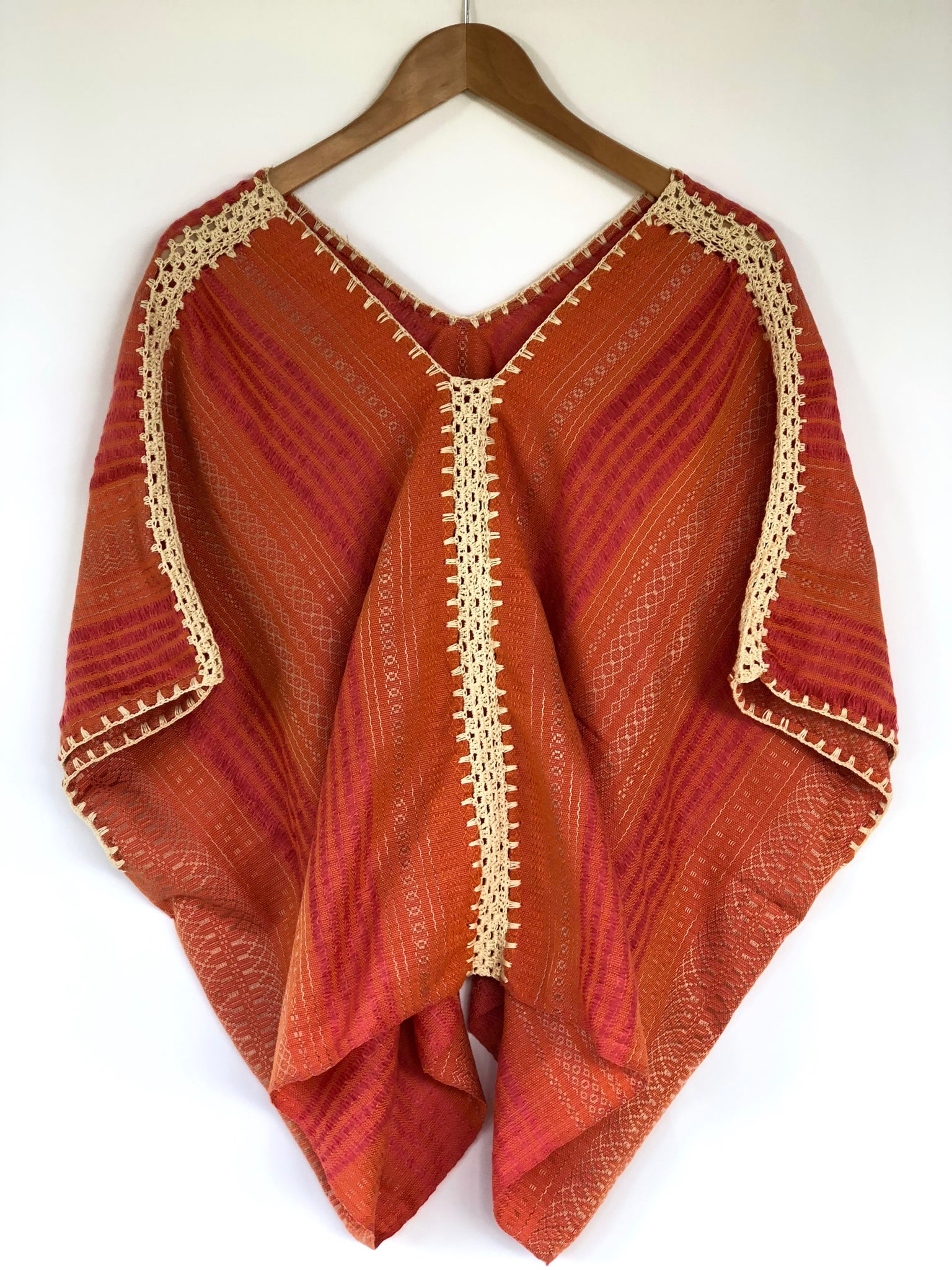 Coral and Magenta Juana Blouse