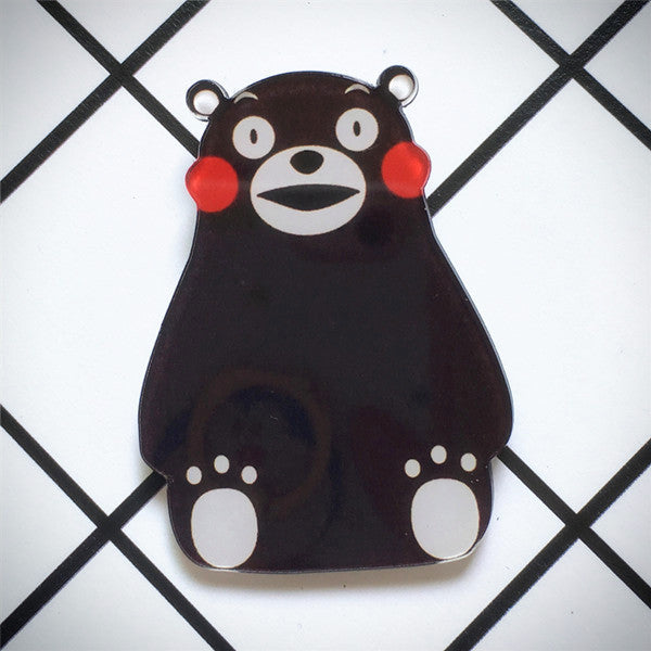 Kumamon Acrylic Brooch - Ice Cream Cake