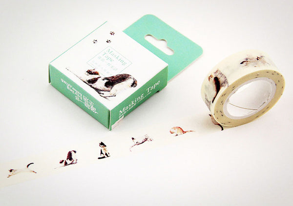 Cat Print Masking Tape - Ice Cream Cake