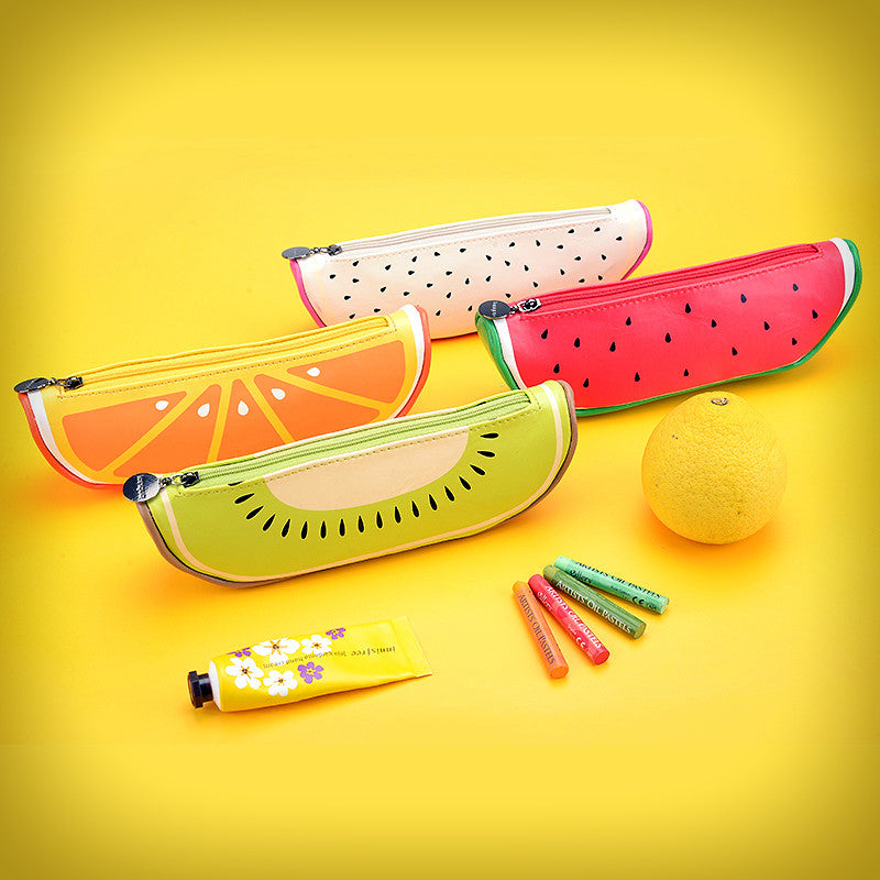 Fruit Pencil Case (4 Designs) - Ice Cream Cake