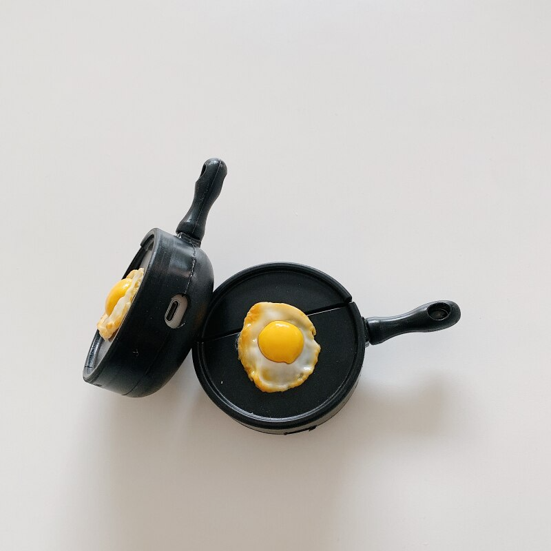 Fried Egg Pan Airpod Case Cover
