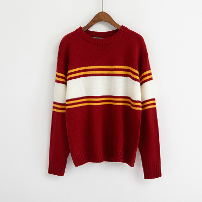 Multicolour 90s Contrast Stripe Jumper (5 colours) - Ice Cream Cake