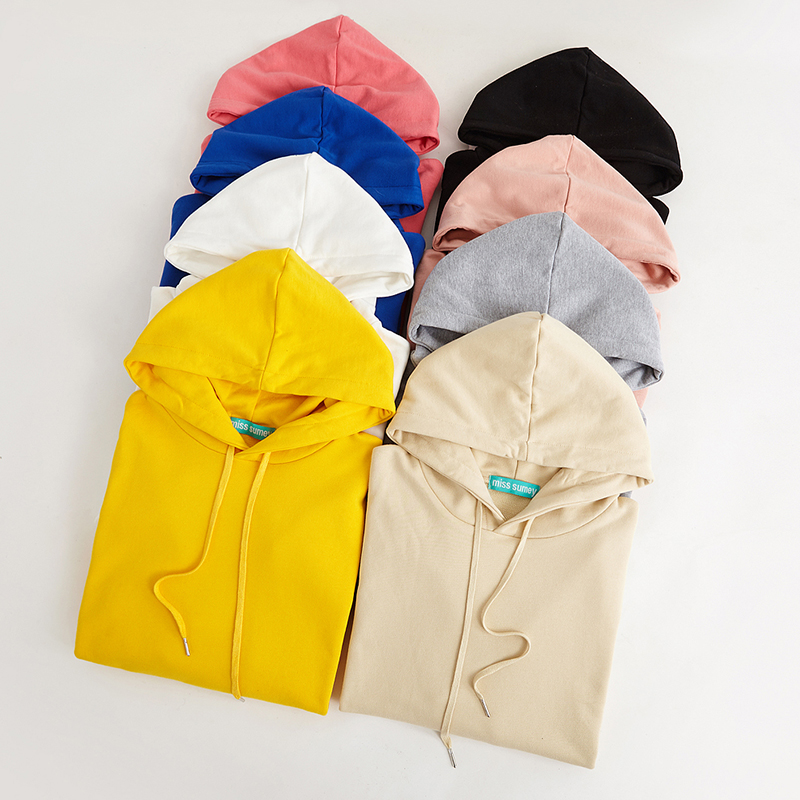 Lightweight Hooded Pullover With Kangaroo Pocket (8 colours) - Ice Cream Cake