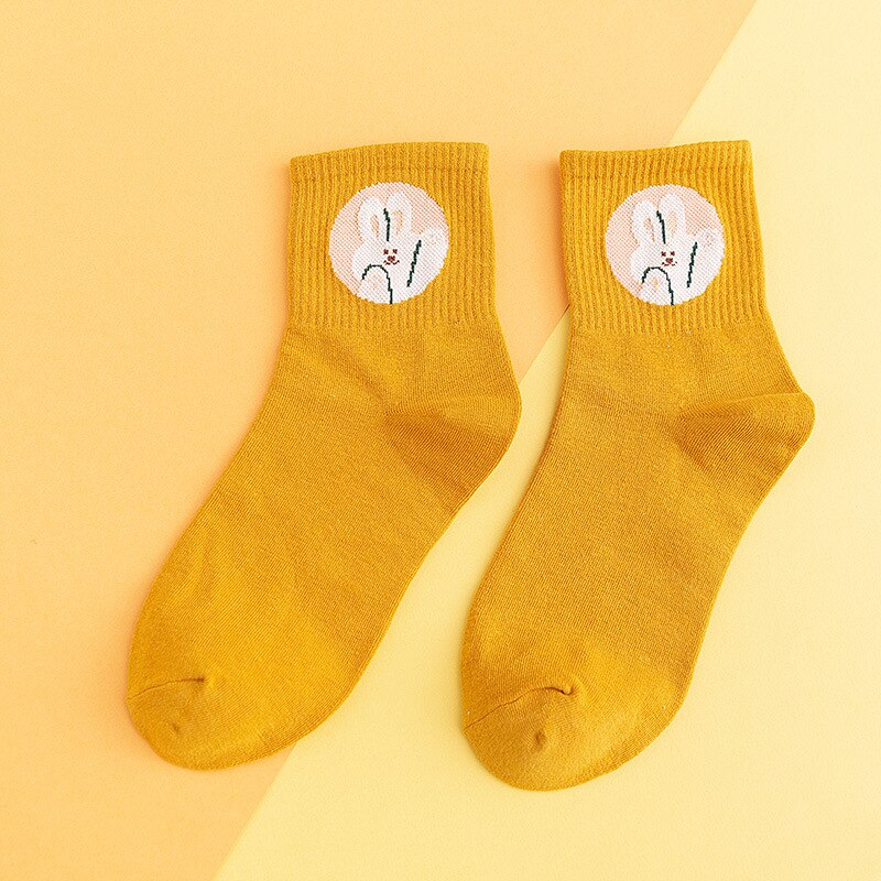 Waving Animals Ankle Socks (8 Designs)