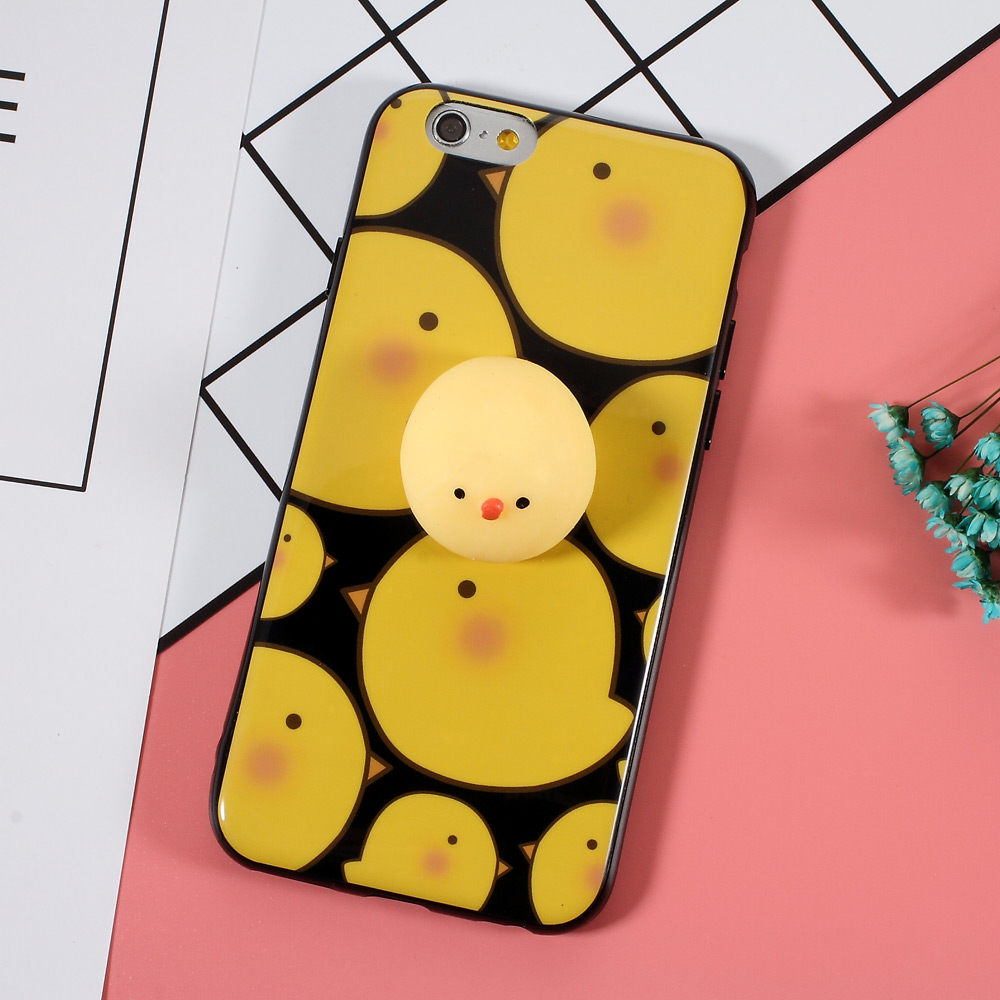 Squishy Baby Chick iPhone Case (2 Designs) - Ice Cream Cake