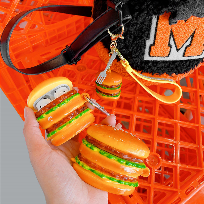 Hamburger Airpod Case Cover