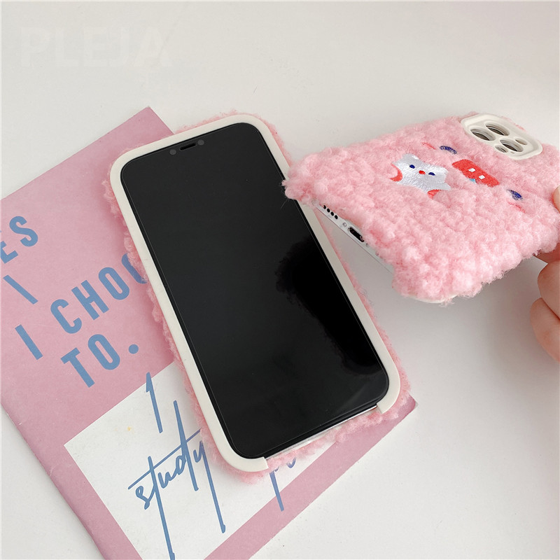 Plush Piggy iPhone Case