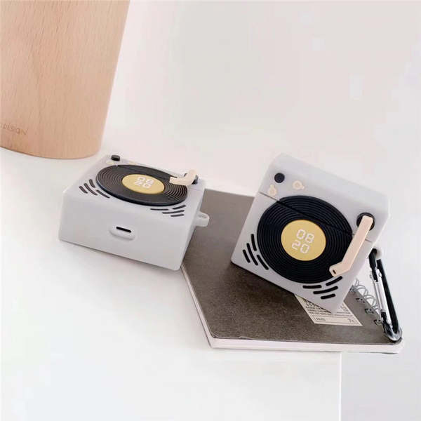 Turntable Airpod Case Cover