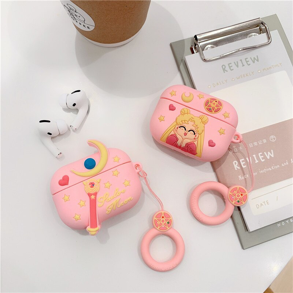 Sailor Moon Airpod Case Cover (2 Designs) - Ice Cream Cake